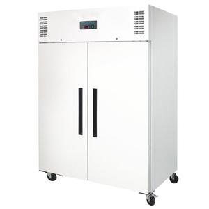 Vrieskast, Polar, dubbele deuren, 1200 liter, wit