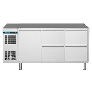 Koelwerkbank NordCap, CLM 650 3-7031, 1 deuren, 4 x 1/2 lades