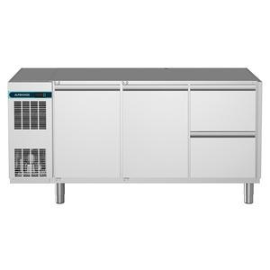 Vrieswerkbank NordCap, CLM-TK 700 3-7011, 2 deuren, 2 x 1/2 lades