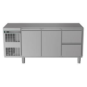 Koelwerkbank NordCap, CRIO HPM 3-7011, 2 deuren, 2 x 1/2 lades