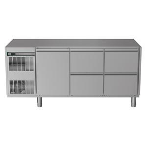 Koelwerkbank NordCap, CRIO HPM 3-7031, 1 deur, 4 x 1/2 lades