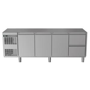 Koelwerkbank NordCap, CRIO HPM 4-7011, 3 deuren, 2 x 1/2 lades