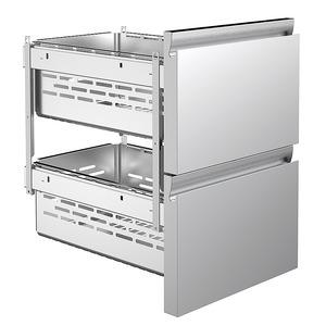 Koelwerkbank NordCap, CRIO HPM 2-7011, 1 deur, 2 x 1/2 lades