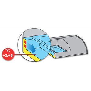 Tapaskoeler NordCap, TAPAS 4 GN, 4 x GN 1/3, 40 mm