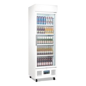 Koelkast, Polar, glasdeur, 336 liter