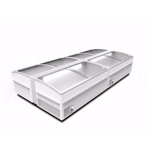 Koel- en vrieskist Framec, Domino Smart 150, statische koeling, glazen schuifdeksels