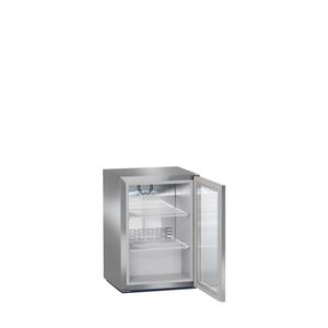 Barkoeler Liebherr, FKv 503, glazen deur, RVS