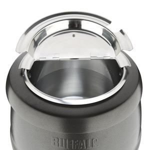 Soepketel, Buffalo, 10 liter, grijs