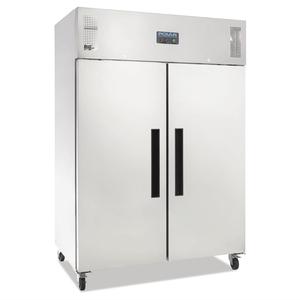 Koelkast Polar, dubbele deur, 1200 liter, RVS, GN 2/1