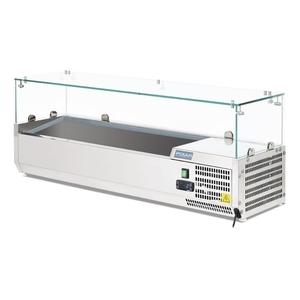 Opzetkoelvitrine Polar, 5 x GN 1/4, 100 mm