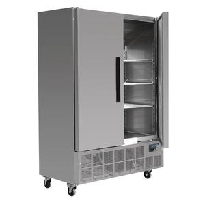 Vrieskast Polar, Slimline, dubbele deur, 960 liter, RVS, GN 2/1