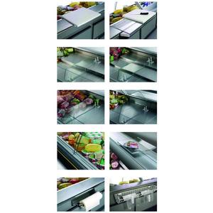 Koeltoonbank NordCap GIOVE II-320-M UM, circulatiekoeling