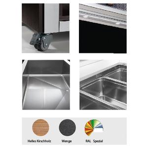 Saladebar NordCap, TR-GREEN 4/1, statische koeling, elektrische kap