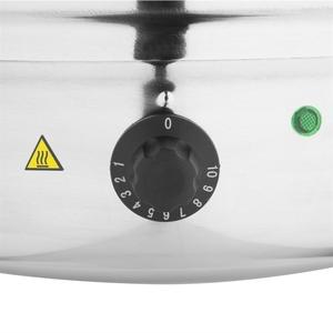 Soepketel, Buffalo, 10 liter, RVS