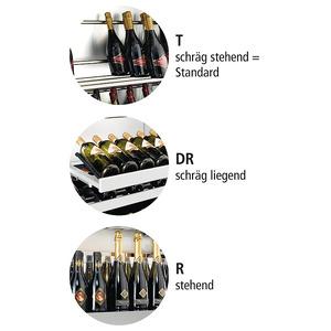 Wijnklimaatkast Nordcap, Miami Medium RF T, glasdeur