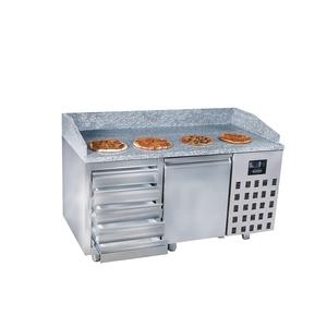 Pizzawerkbank Combisteel, 1 deur en 5 laden