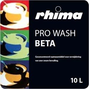 Pro Wash Beta, vaatwasmiddel Rhima voor pannenwasmachine