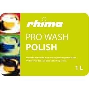 Pro Wash Polish, Rhima, onderhoudsmiddel RVS oppervlakken