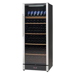 Wijnklimaatkast Nordcap, W 155, glasdeur, 2 temperatuurzones