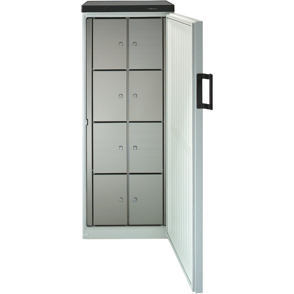 Gemeenschappelijke koelkast NordCap, 380-8 F, statische koeling, 8 afsluitbare vakken
