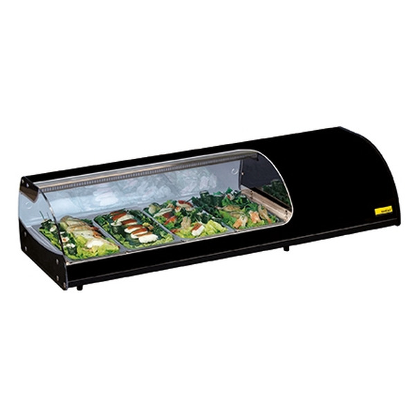 Sushivitrine NordCap, SUSHI 10 GN, 10 x GN 1/3, 40 mm