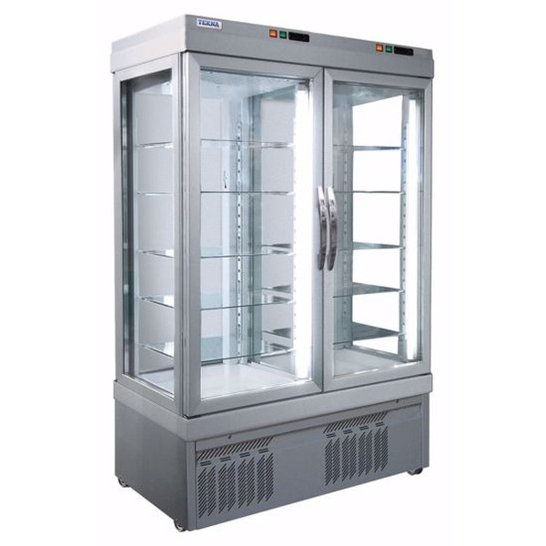 Display vrieskast Tekna, 7300 NFN, 3 glazen zijden