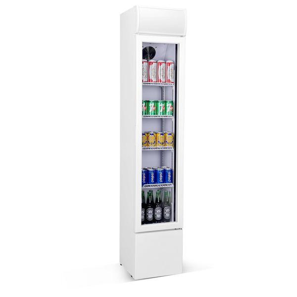Glasdeur koelkast Combisteel smal