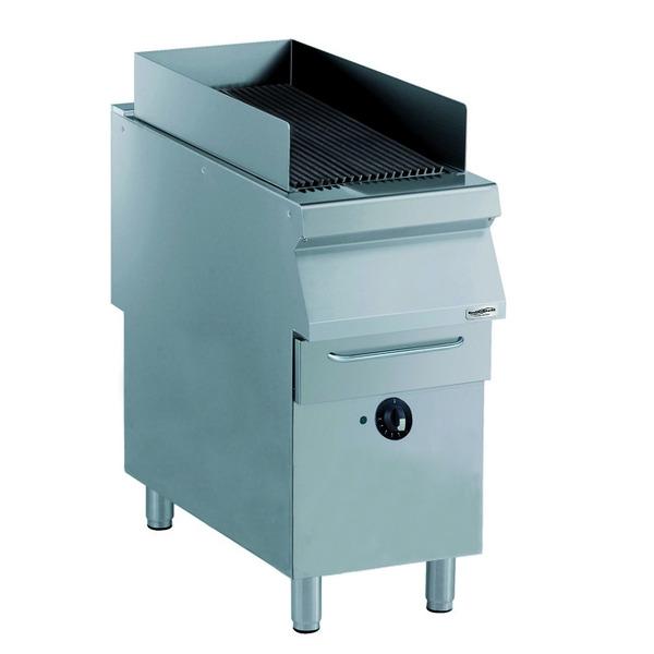 Elektrische grill, Combisteel, staand model, PRO 900, breedte 40 cm