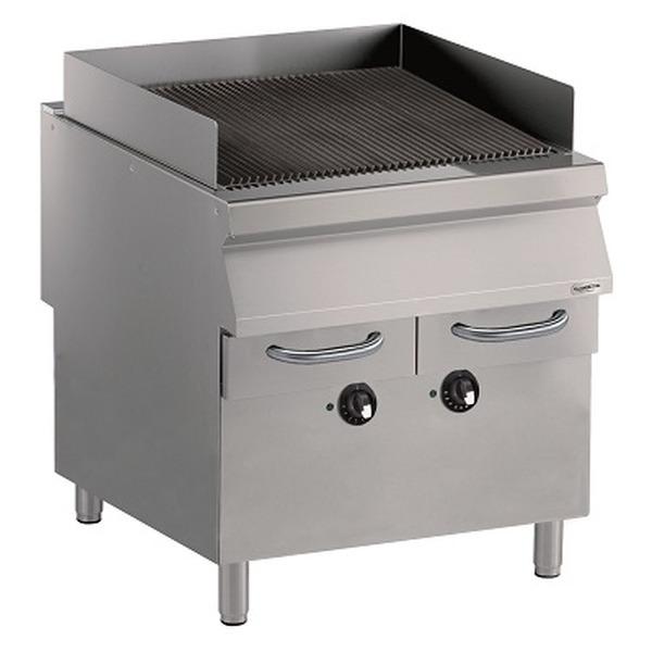 Elektrische grill, Combisteel, staand model, PRO 900, breedte 80 cm