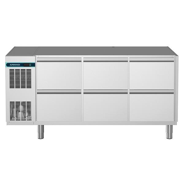 Koelwerkbank NordCap, CLM 650 3-7051, 6 x 1/2 lades