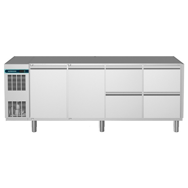 Koelwerkbank NordCap, CLM 650 4-7031, 2 deuren, 4 x 1/2 lades