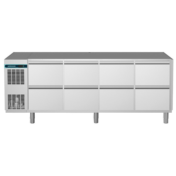 Koelwerkbank NordCap, CLM 650 4-7051, 8 x 1/2 lades