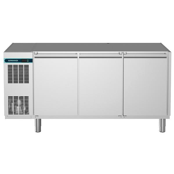 Koelwerkbank NordCap, CLM 700 3-7001, 3 deuren