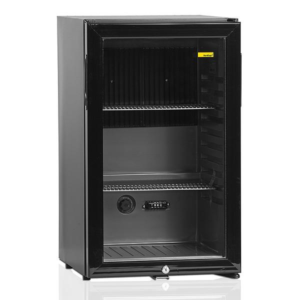 Minibar NordCap, TM 52-G, geruisloze absorptietechnologie, glasdeur
