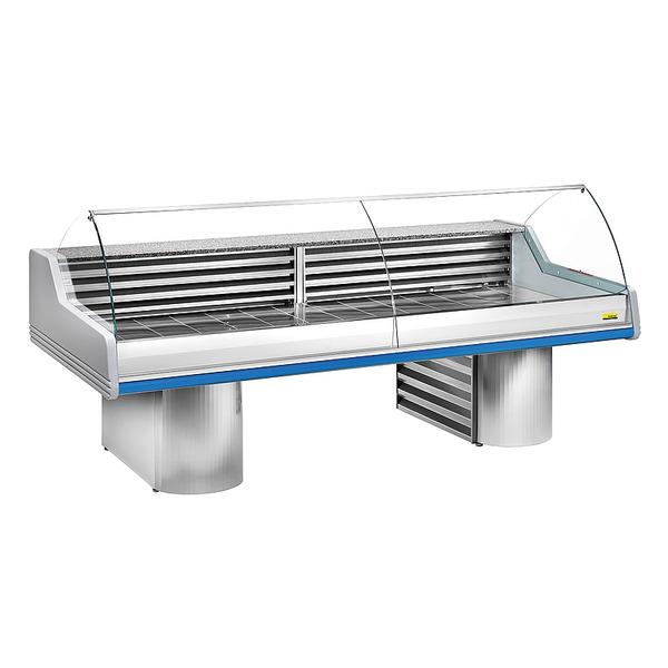 Viskoelbuffet NordCap, SAIGON 3000 ST, statische koeling, RVS