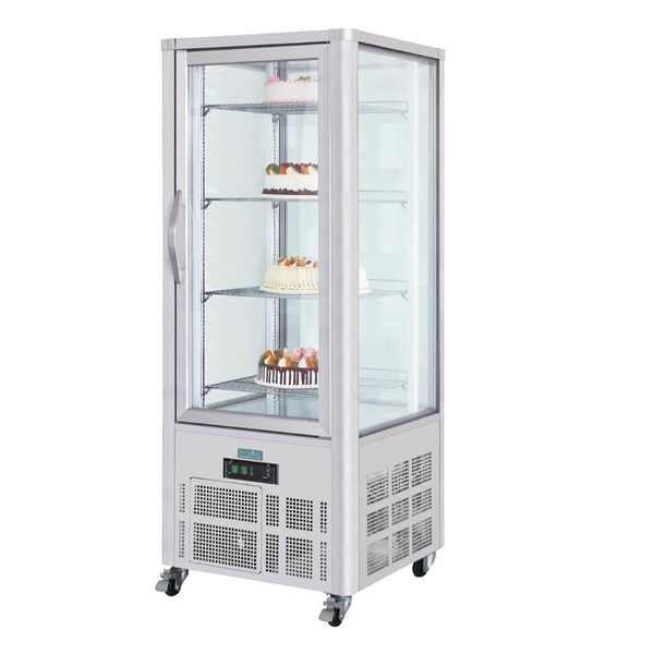 Gebaksvitrine Polar, 400 liter