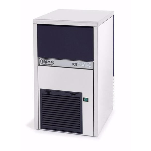 IJsblokjesmachine Brema, IMF 28 HC, 22 kilo/dag, vingerhoedvormige ijsblokjes, luchtgekoeld