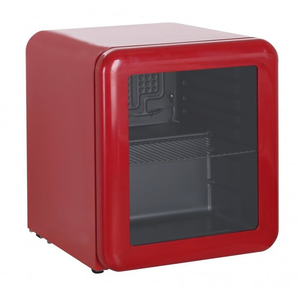 Barkoeler Exquisit KB50-RETRORED, glasdeur, rood