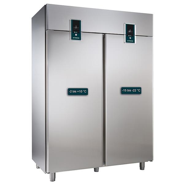 Koelkast NordCap, KK 1402 Premium, GN 2/1, dubbele deur, 2 afzonderlijke koelcompartimenten