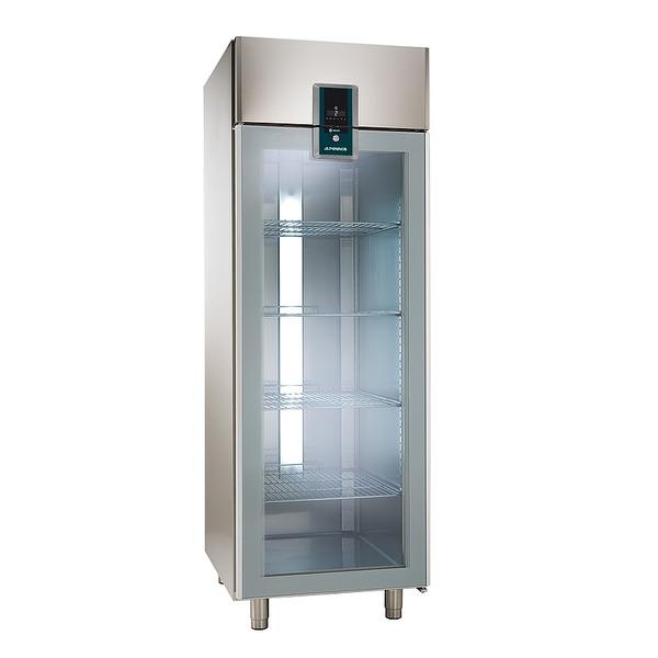 Koelkast NordCap, KU 702-G Premium, GN 2/1, glazen deur