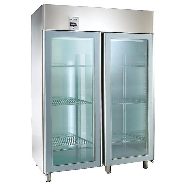 Koelkast NordCap, KU 1402 G Comfort, GN 2/1, dubbele glasdeuren