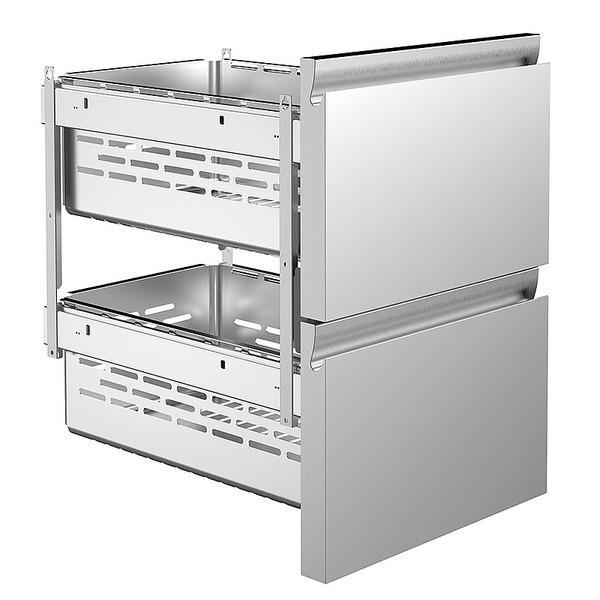 Lade 2 x 1/2, voor koelwerkbank Nordcap CL 650