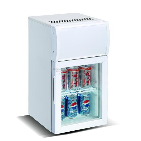 Mini koelkast Combisteel, glasdeur, 20 liter, statische koeling