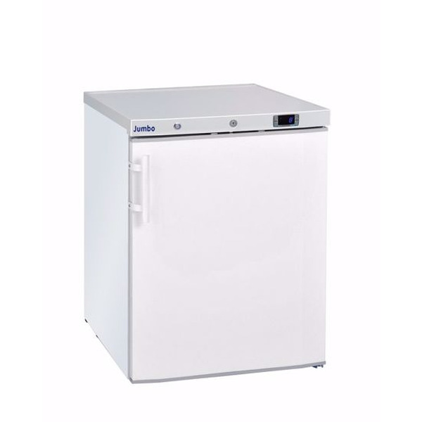 Vrieskast Jumbo, Mini Jumbo 200, wit, statische koeling