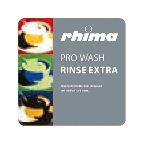 Pro Wash Rinse Extra, naspoelmiddel Rhima