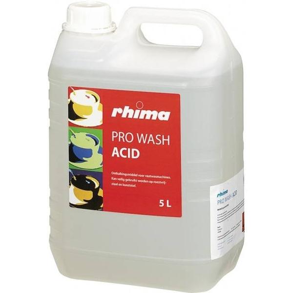 Pro Wash Acid, Rhima, ontkalkingsmiddel voor vaatwasmachines