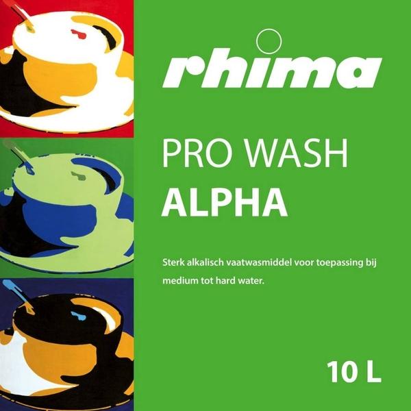 Pro Wash Alpha, vaatwasmiddel Rhima
