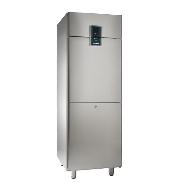 Diepvrieskast NordCap, TKU 702-2 Premium, circulatiekoeling, 2 halve deuren, GN 2/1