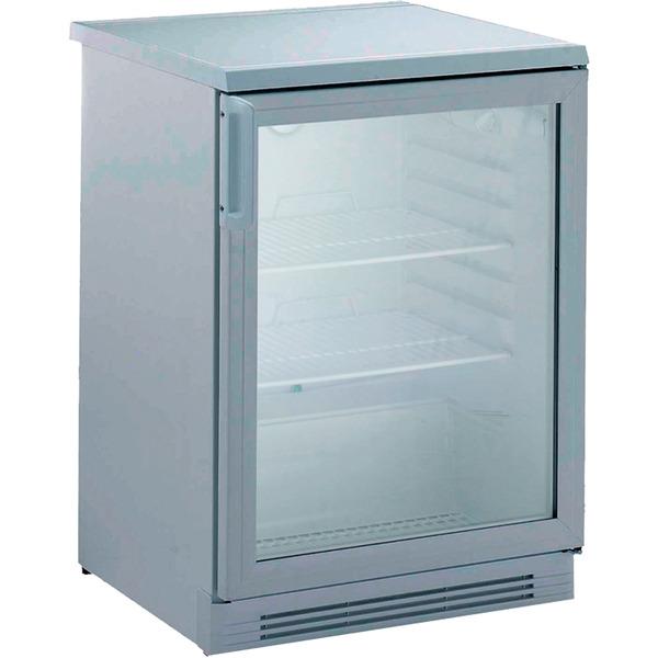 Koelkast NordCap, UKU 162 CHR, circulatiekoeling, glazen deur