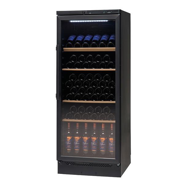 Wijnklimaatkast NordCap, VKG 511 LED, glasdeur, statische koeling